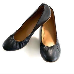 NWOB J. Crew Leather Flat Shoes